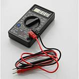 Цифровой Профессиональный мультиметр DT-830B тестер вольтметр, фото 2