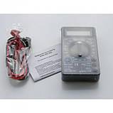 Цифровой Профессиональный мультиметр DT-830B тестер вольтметр, фото 4