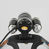 Налобный фонарь Bailong/Wimpex Police RJ-3000-T6 фонарик, фото 3