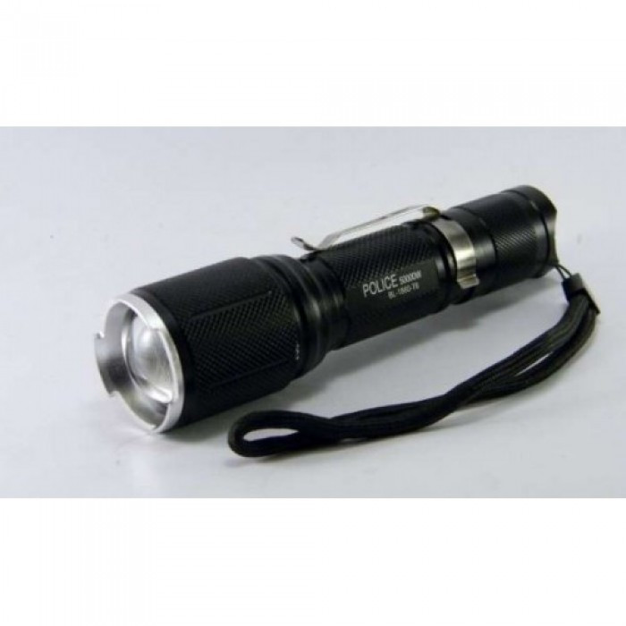 Тактический фонарь POLICE BL 1860 T6 50000W фонарик 1000 Lumen