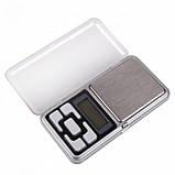 Карманные ювелирные электронные весы до 500 грамм, фото 3
