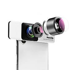 Панорамный объектив на телефон Pano Clip 360° для iPhone, фото 3
