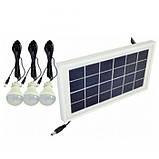 Фонарь ручной светодиодный Yajia YJ-1908T с солнечной панелью и USB Power Bank, фото 8