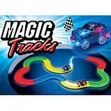 Гоночная трасса, которая светится Magic Tracks 220 деталей меджик Трэк, фото 5