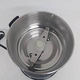 Кофемолка DT 594 измельчитель нержавеющая сталь 200Вт Чёрный, фото 3