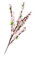 Ветка сакуры розовая 125см (24031)