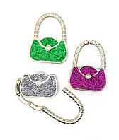 "Вешалка для женской сумочки ""Сумочка-Замок"" 6х4,5х1см (28513)"