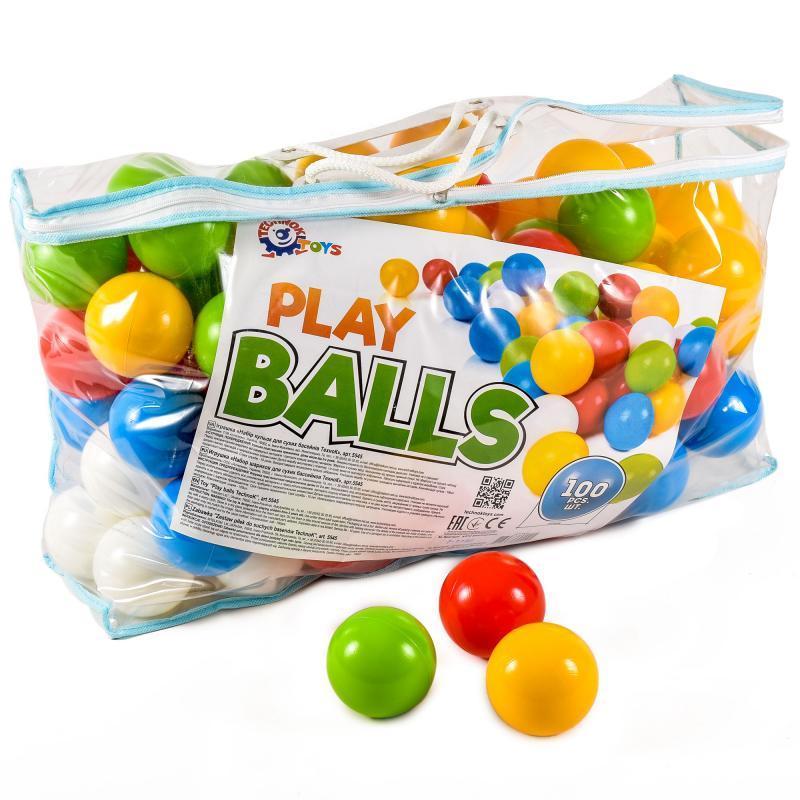 Набор шаров в сухой бассейн 100 шт в сумке