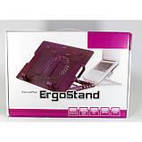 Охлаждающая Подставка для ноутбука кулер ColerPad ErgoStand, фото 8