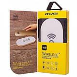 Беспроводное зарядное устройство AWEI W2 БЕЛЫЙ, фото 3
