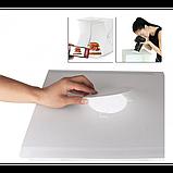 Световой Лайт бокс с 2x LED подсветкой для предметной макросъемки 40 х 40 см, фото 2
