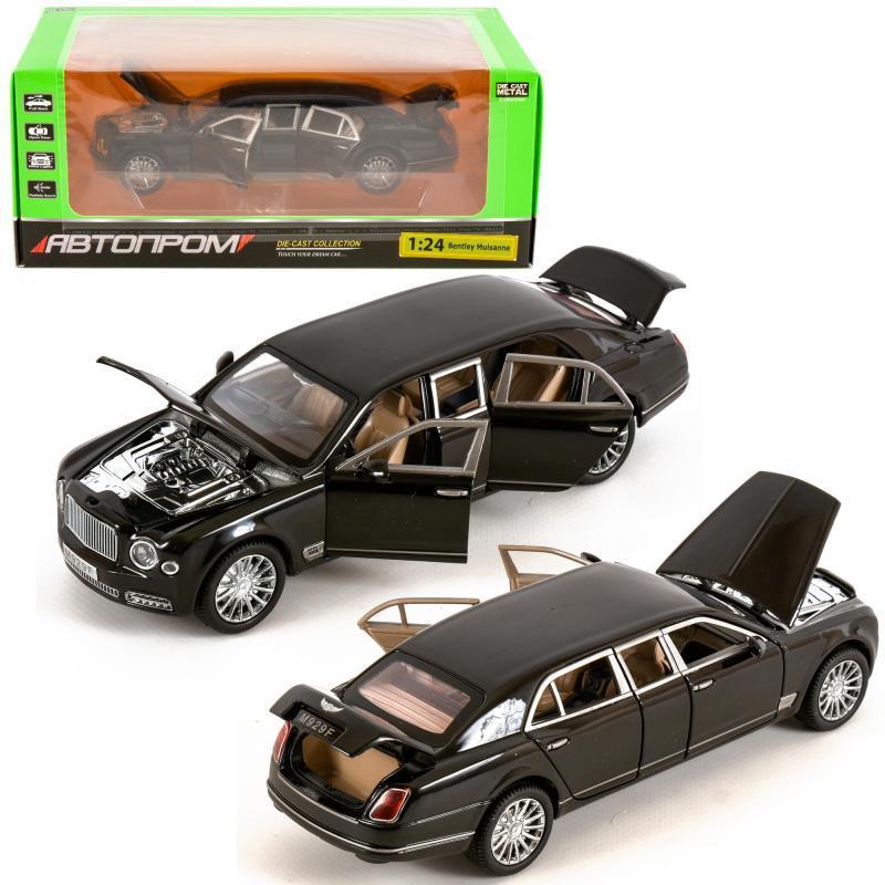 """Машина метал 7694 (12шт/2) """"АВТОПРОМ""""1:24 Bentley"""