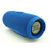 Портативная bluetooth колонка спикер JBL Charge 3 Синий, фото 3