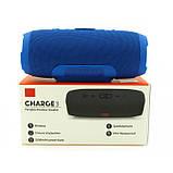 Портативная bluetooth колонка спикер JBL Charge 3 Синий, фото 8