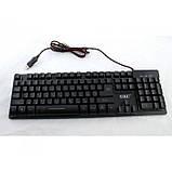 Игровая проводная клавиатура с подсветкой ZYG 800, фото 2
