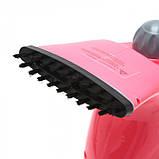 Ручной отпариватель для одежды Аврора A7 розовый, фото 8