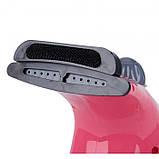 Ручной отпариватель для одежды Аврора A7 розовый, фото 9