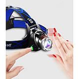 Налобный фонарь Police BL-6699-T6 Фонарик 1200 Lumen С ДАТЧИКОМ ДВИЖЕНИЯ, фото 4