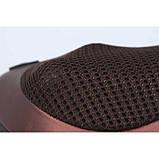 Массажер, массажная подушка для дома и машины Massage pillow CHM-8028 (4 ролика), фото 3