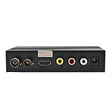 Цифровой эфирный тюнер UKC DVB-T2 0967 с поддержкой wi-fi адаптера c экраном, фото 3