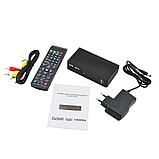 Цифровой эфирный тюнер UKC DVB-T2 0967 с поддержкой wi-fi адаптера c экраном, фото 4