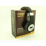Беспроводные Наушники с MP3 плеером 471 BT Радио с LED Дисплеем чёрные, фото 7
