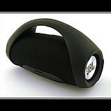Портативная bluetooth колонка влагостойкая JBL Boombox B9 mini FM, MP3, радио Чёрная, фото 4