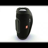 Портативная bluetooth колонка влагостойкая JBL Boombox B9 mini FM, MP3, радио Чёрная, фото 5