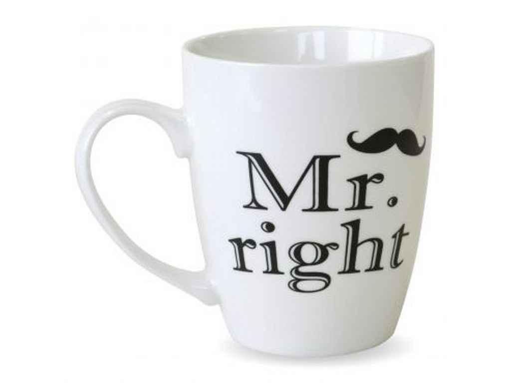 Чашка Mr.right 360мл 21-272-049 ТМKERAMIA