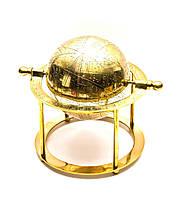 Глобус бронза 19х19,5х19,5см (26629)