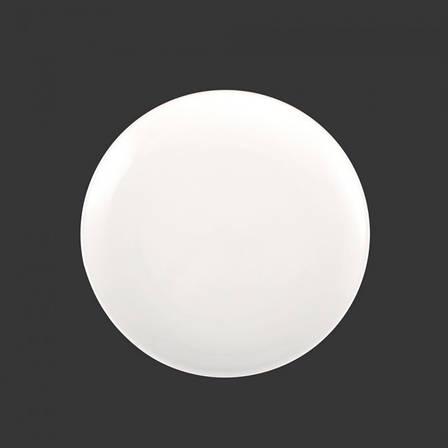 "Тарілка кругла порцелянова 9"" HLS Extra white 230 мм (W0123), фото 2"