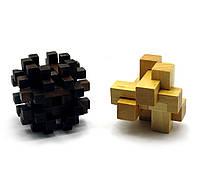 Головоломка деревянная 7х7х7см (28020)