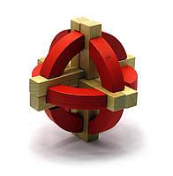 Головоломка деревянная 9х9х9см (28023)