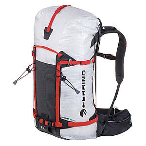 Рюкзак туристический легкий 35 л Ferrino Instinct 30+5 White треккинг, альпинизм, скалолазание, ски-альпинизм