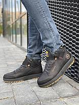 Мужские ботинки кожаные зимние черные Belvas 19151, фото 2