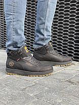Мужские ботинки кожаные зимние черные Belvas 19151, фото 3