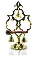 """Гонг бронзовый """"3 колокольчика"""" 22х12х8см (18319)"""