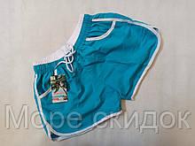 Шорты для женщин  1998 голубой.  (в наличии  44 46 48 размеры)