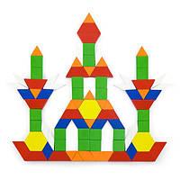 Деревянный игровой набор Viga Toys Цветная мозаика, 250 эл. (50065), фото 1