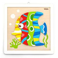 Набор для творчества Viga Toys Картина своими руками Рыбка (50687), фото 1