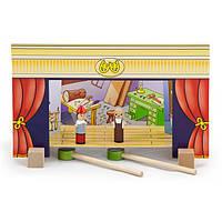 Деревянный игровой набор Viga Toys Магнитный театр (56005), фото 1