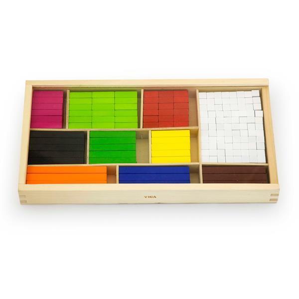 Набор для счета Viga Toys Деревянные палочки Кюизенера, 308 шт. (56166)