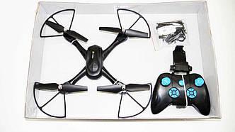 Квадрокоптер дрон D11 c WiFi камерой переворот на 360 градусов