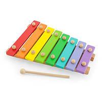 Музыкальная игрушка Viga Toys Деревянный ксилофон, 8 тонов (58771), фото 1