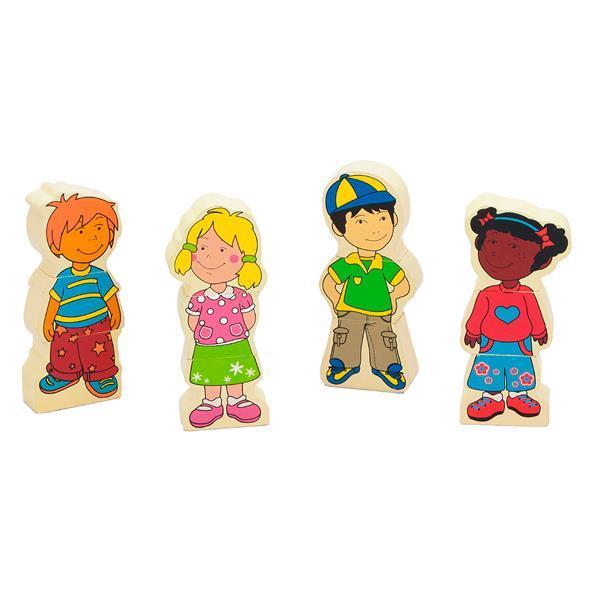 Набор магнитных фигурок Viga Toys Дети (59699VG)