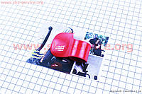 Лепесток рукоятки газа на скутер Viper Storm красный