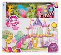 Замок пони с аксессуарами 6628А-4