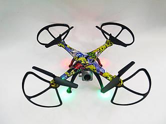 Радиоуправляемый квадрокоптер дрон Pioneer CD622 c WiFi камерой