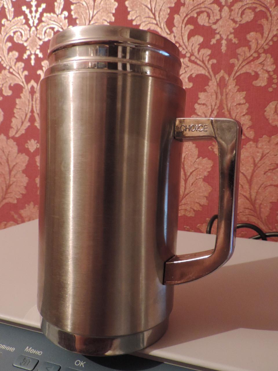 """Кружка термос """"Office Cup"""" - 400 ml. Нержавейка."""