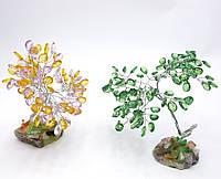 Дерево с кристаллами (19см)